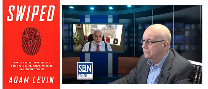 """SBN anchor Steve Lubetkin interviews cybersecurity expert Adam Levin, author of """"Swiped: How to Protect Yourself in a World Full of Scammers, Phishers, and Identity Thieves,"""" in this SBN exclusive video chat."""